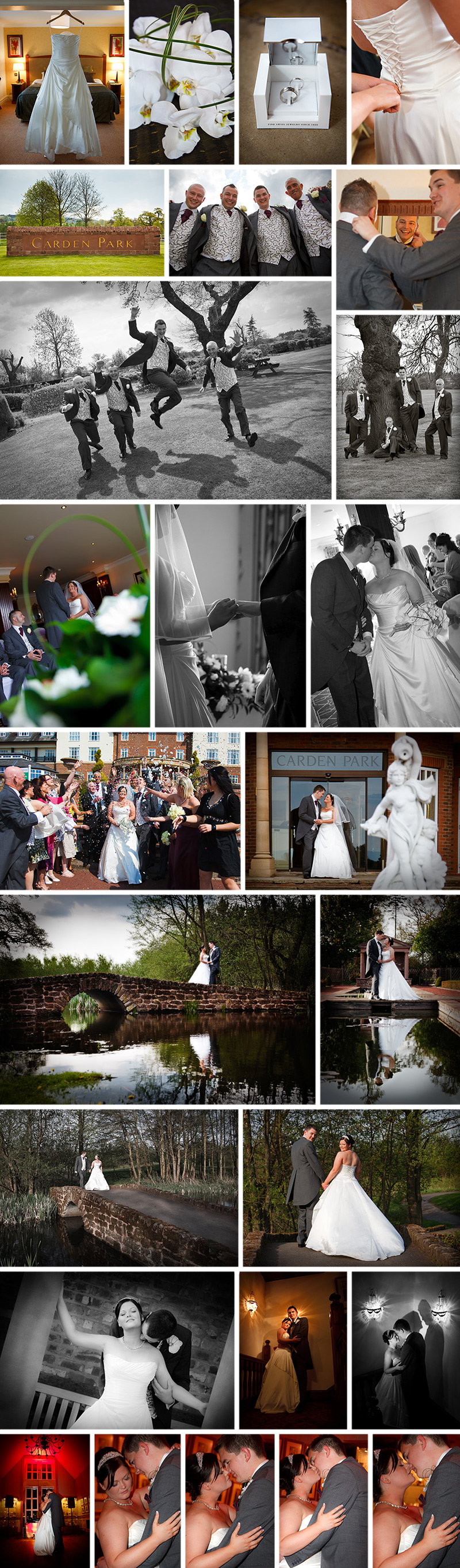 The Wedding of Chris & Rachel at Carden Park, Chester