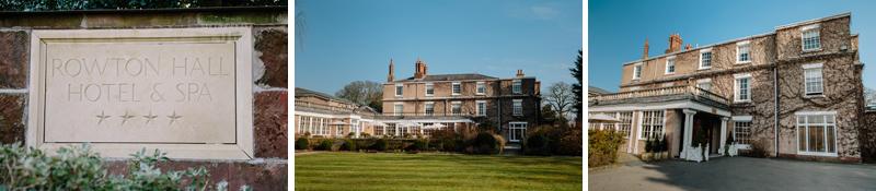 Rowton Hall Wedding Venue