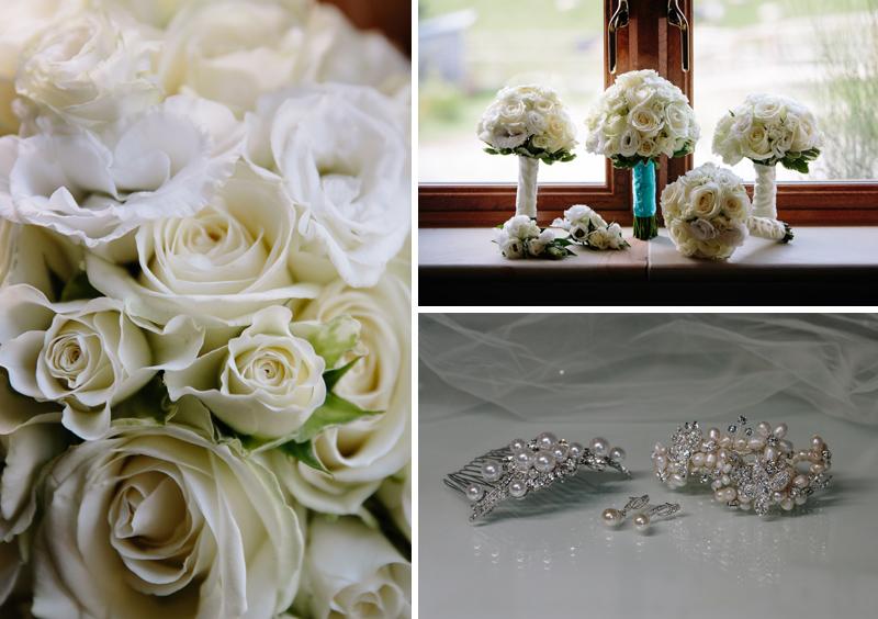 Wedding flowers & details Heaton House Farm