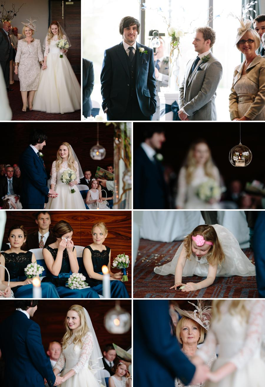 Rookery Hall Wedding ceremony