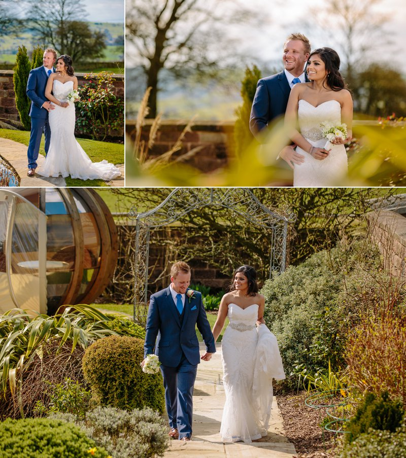 Heaton House Farm Bride & Groom Portraits