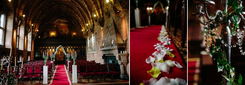 The Great Hall at Peckforton Castle