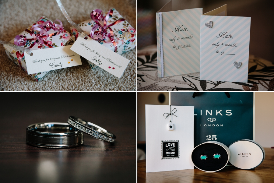 Wedding gifts and cards