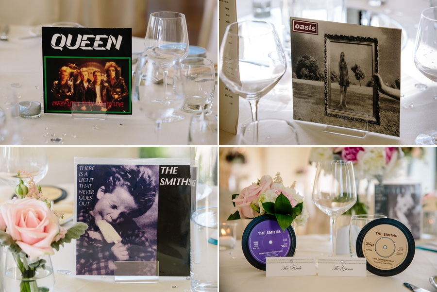 Musical favours for the wedding guests