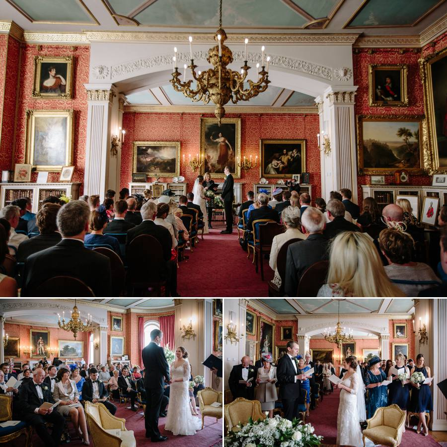 Tabley House Wedding Ceremony