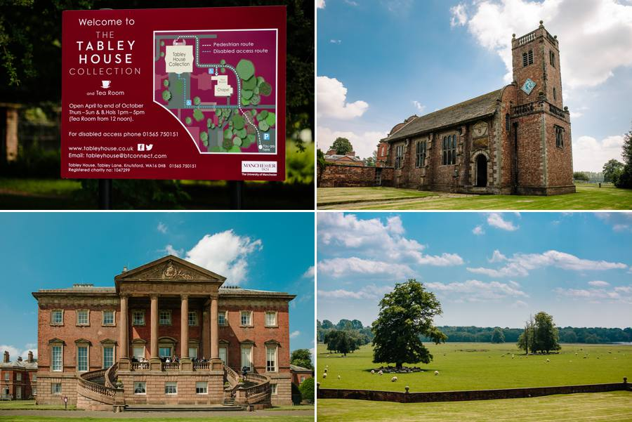 Tabley House Wedding on a beautiful summers day