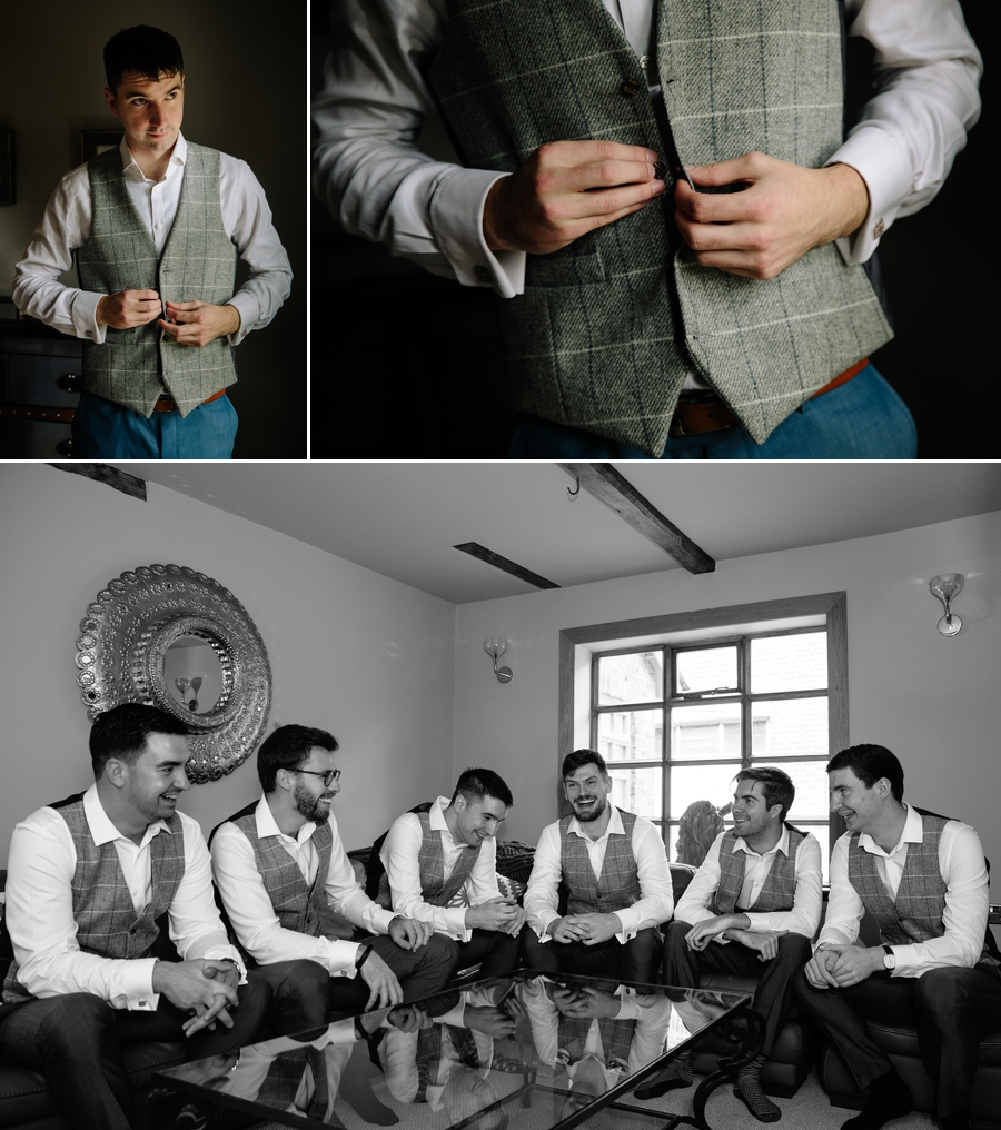 Holford Estate Wedding : Groom Preparations
