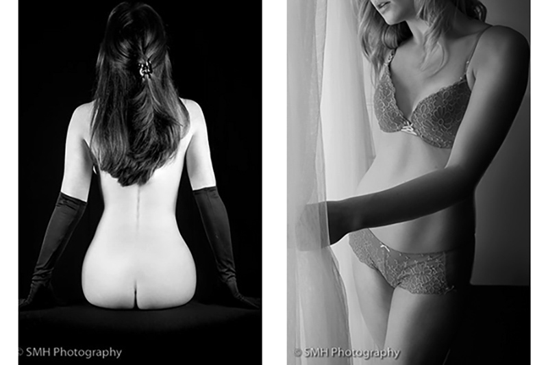 Boudoir Photography near window light