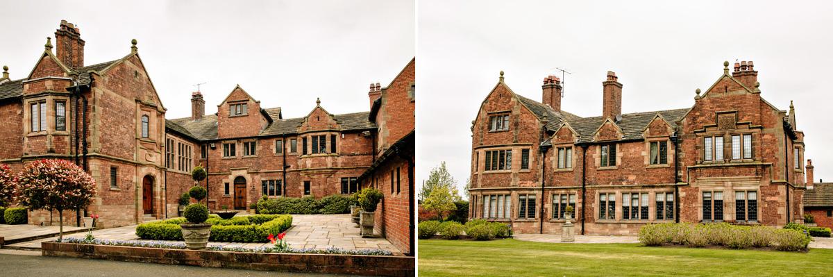 Colshaw Hall Wedding Venue Cheshire