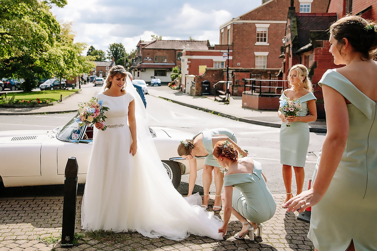 Bride and Bridesmaids Cheshire