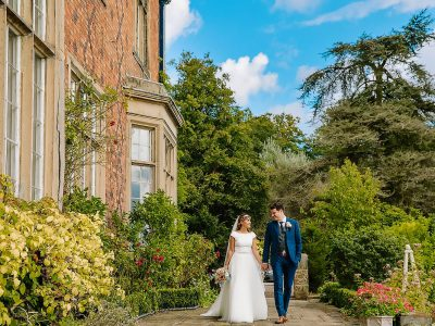 Bride and Groom Willington Hall Cheshire