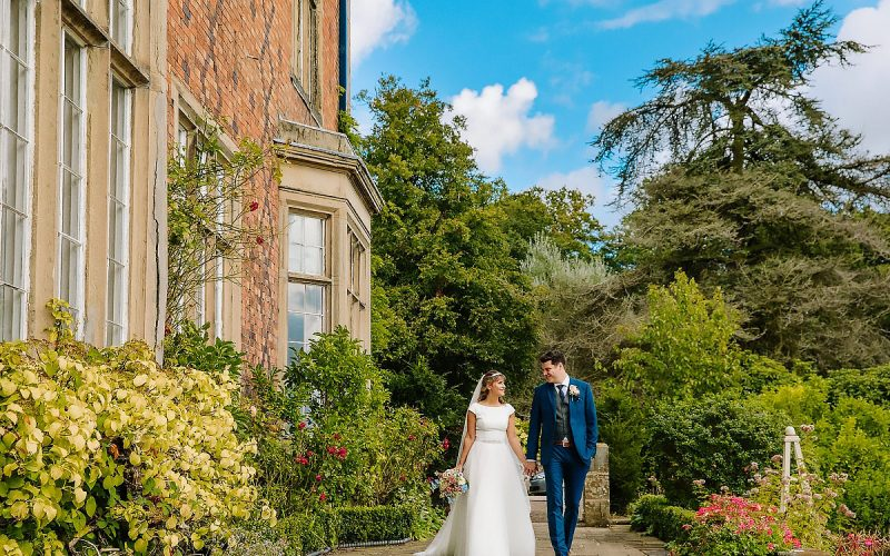 Bride and Groom Willington Hall Cheshire