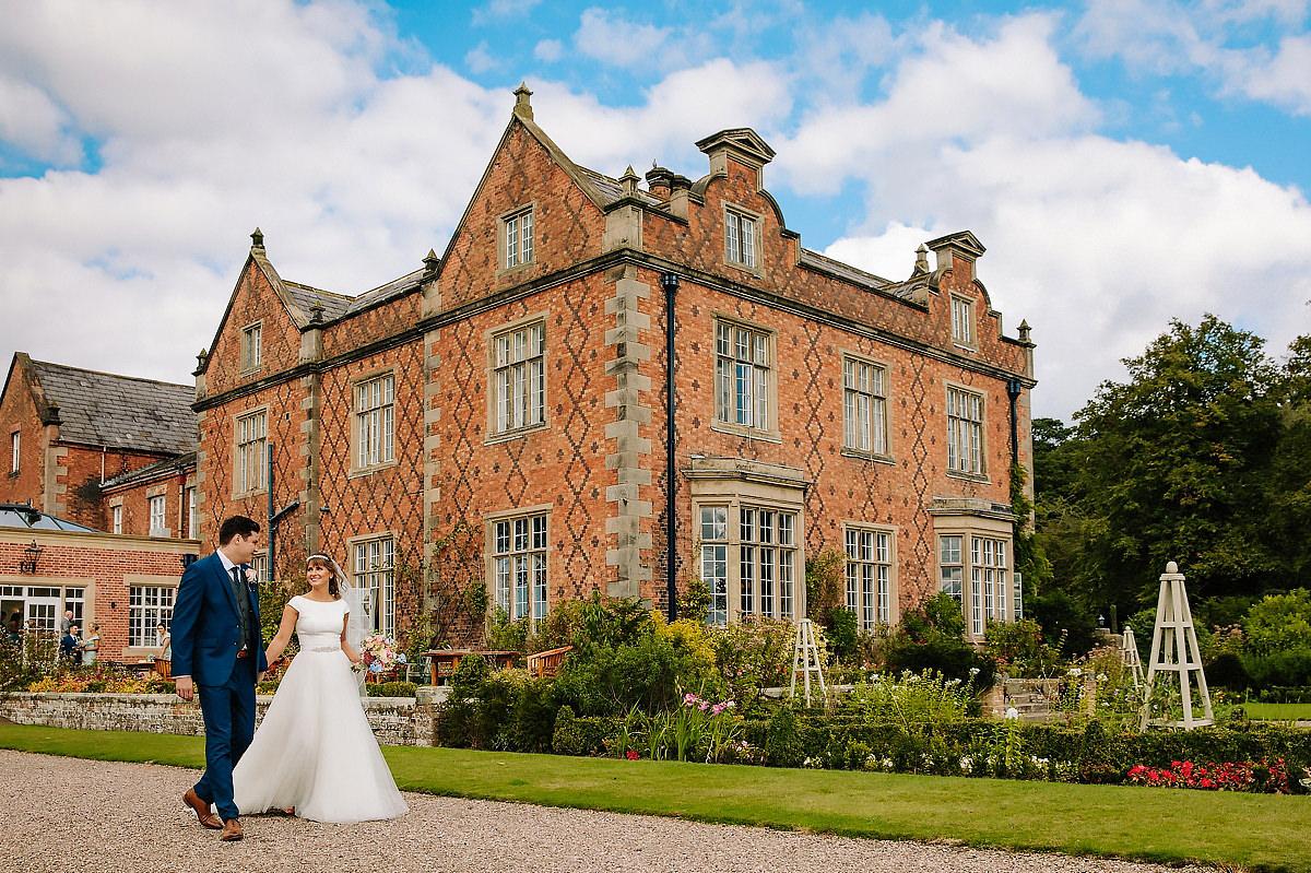 Willington Hall wedding photographer Cheshire