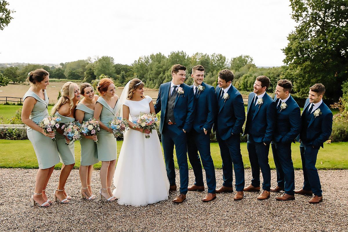 Bridal Party Willington Hall