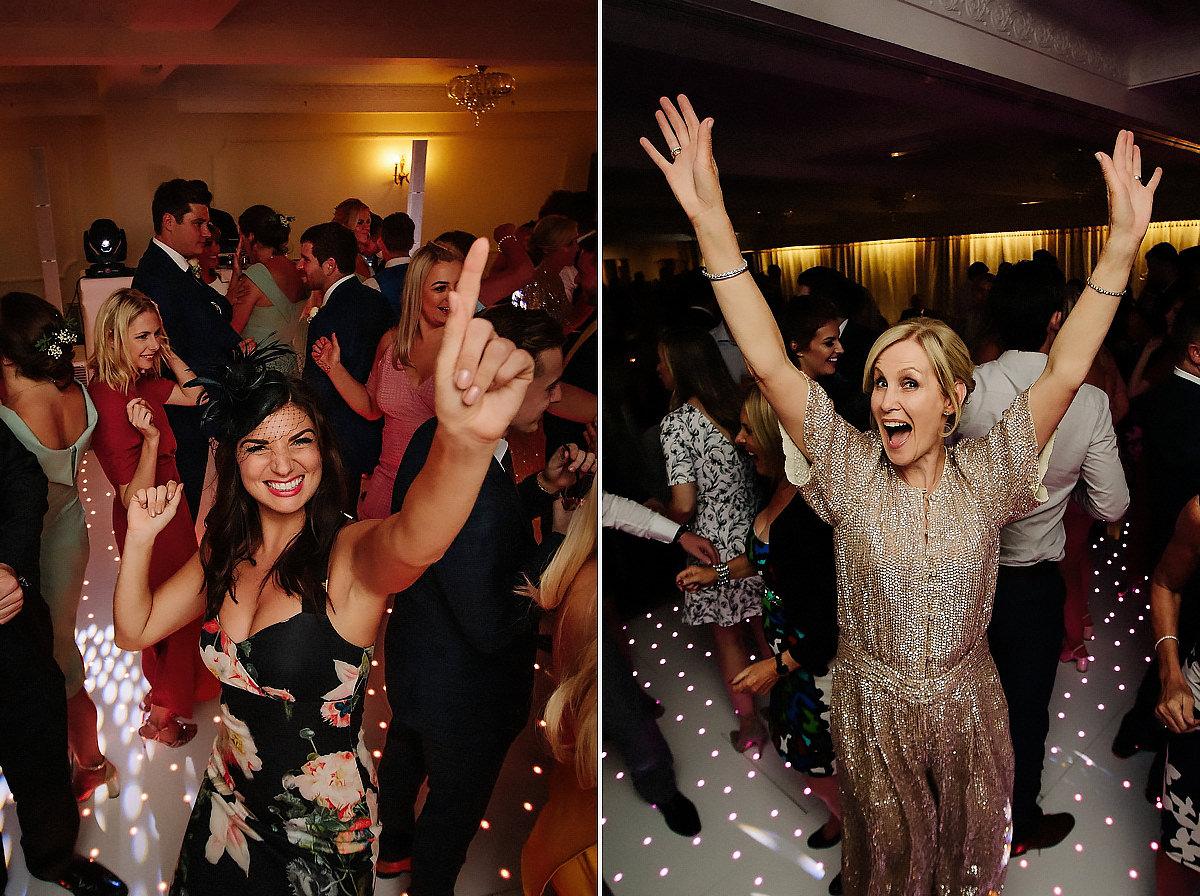 Wedding party dance Willington Hall
