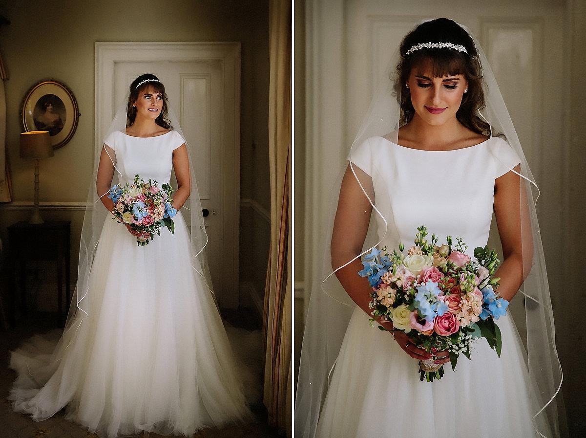 Bridal portraits Willington Hall