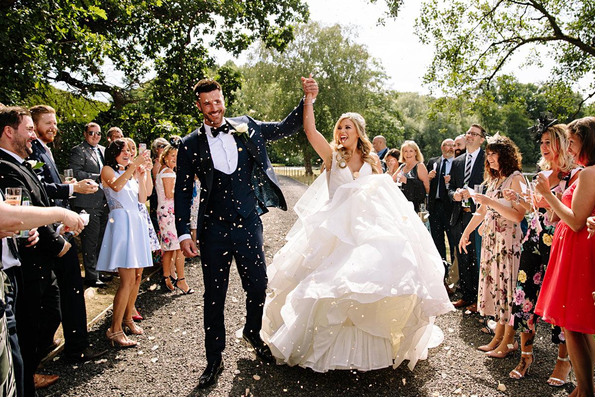 Thornton Manor Lakeside wedding photographer