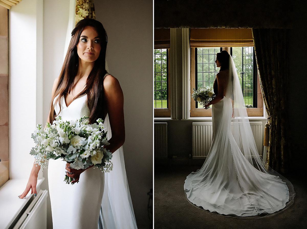 Beautiful Bridal Portraits Colshaw Hall