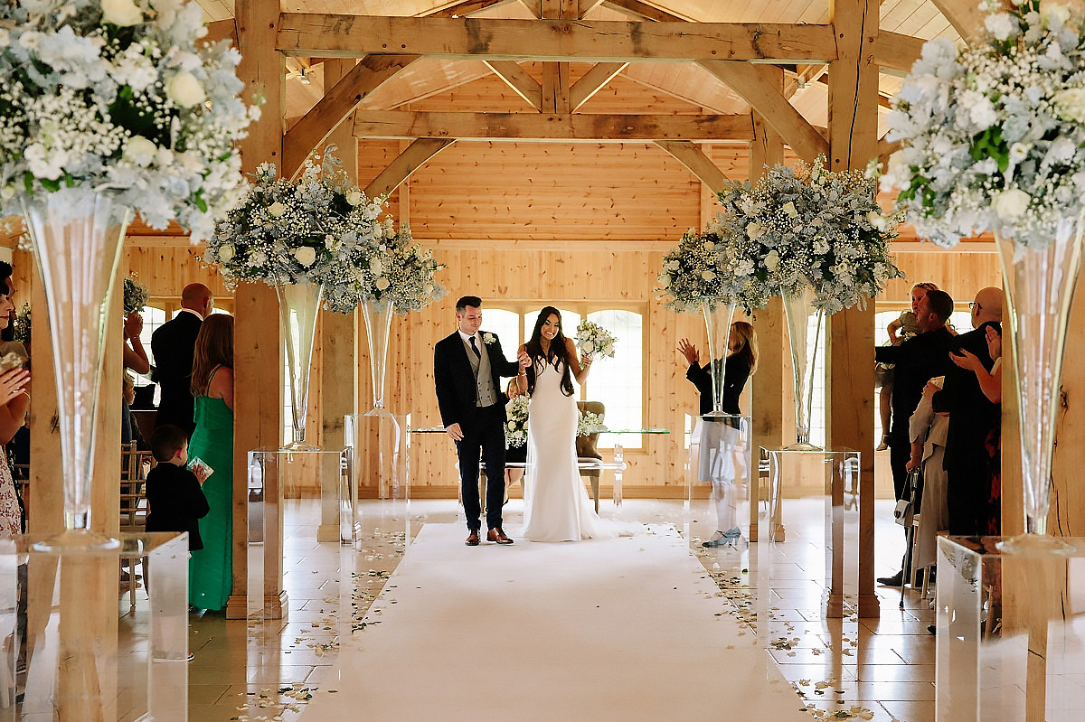 Wedding ceremony The Stables