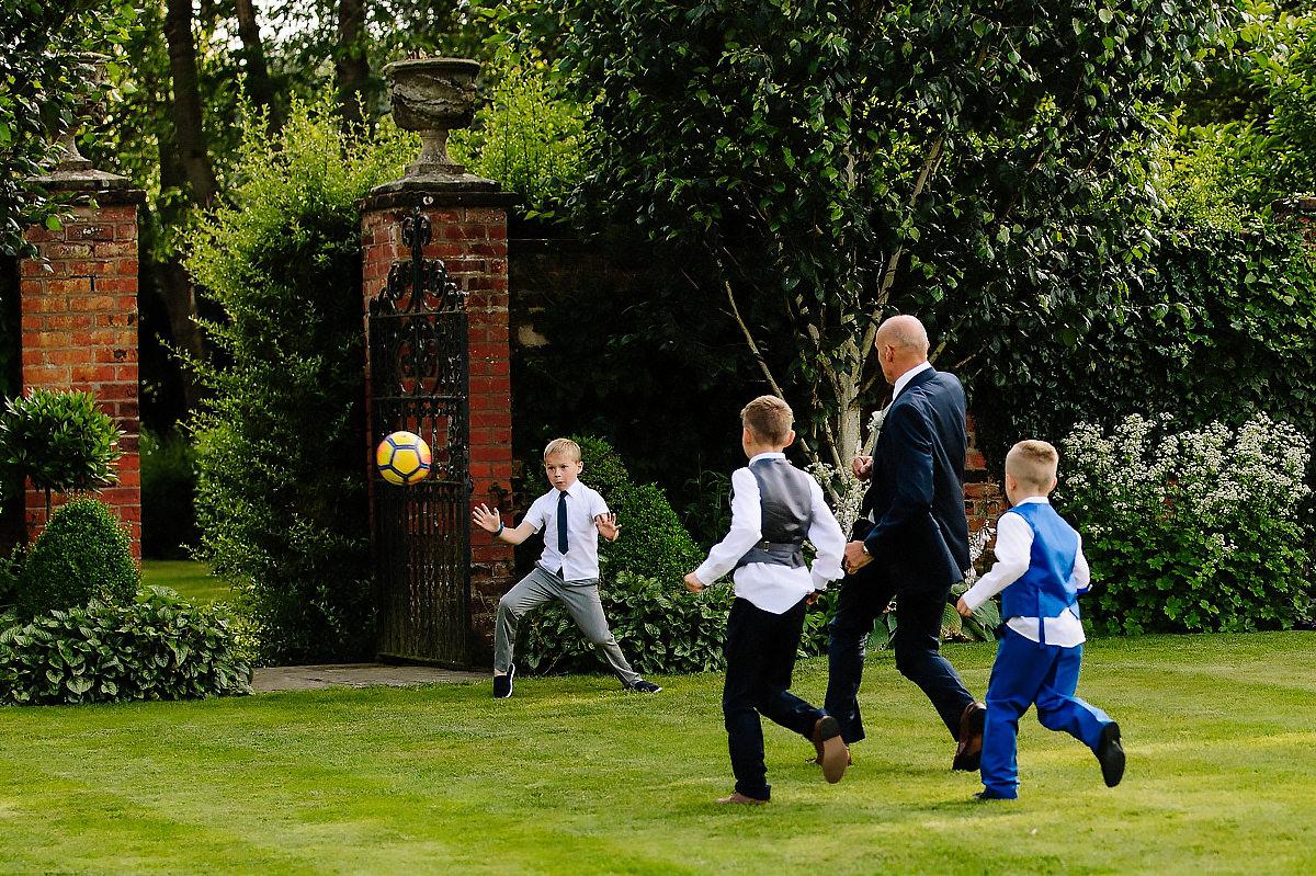 Colshaw Hall garden games