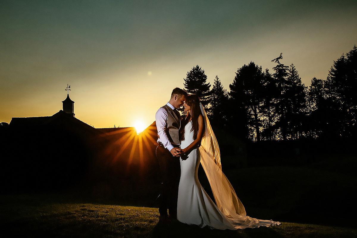 Colshaw Hall sunset