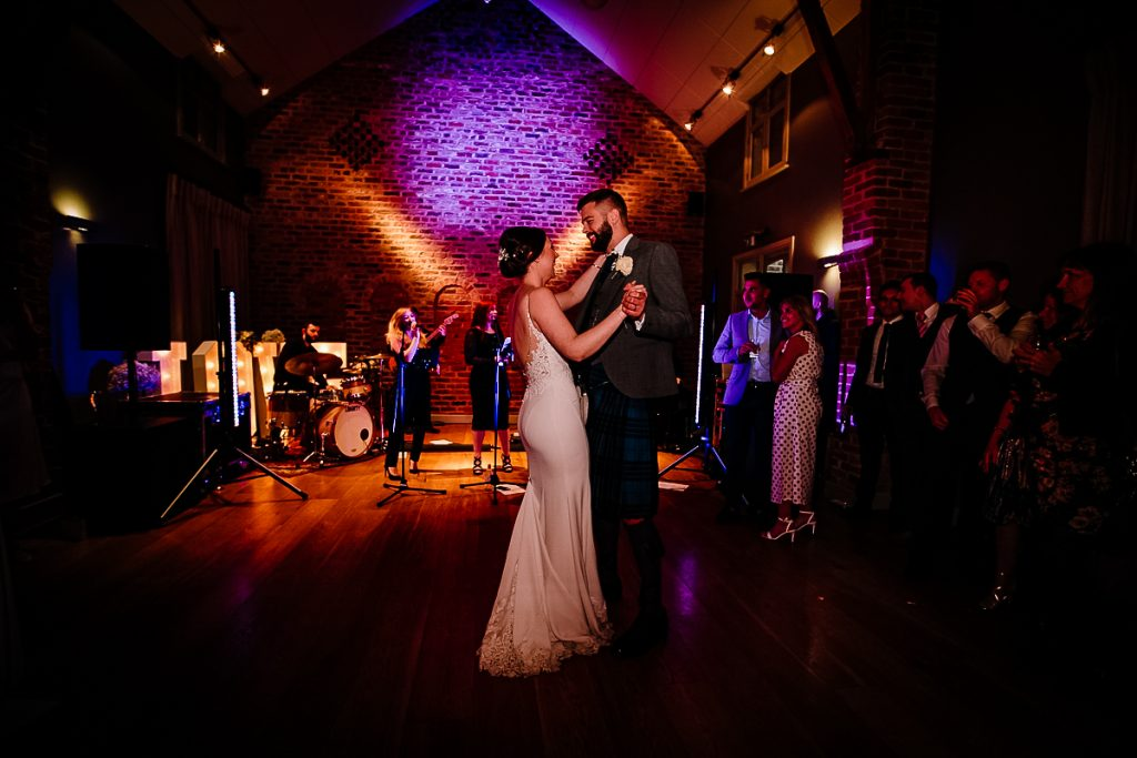Arley Hall first dance