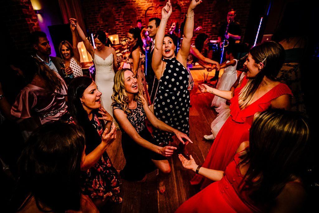 Dancing at Arley Hall Olympia room
