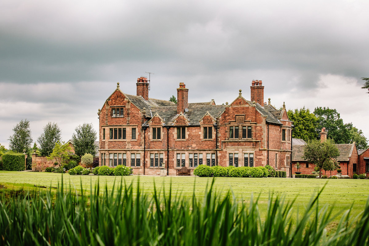 Colshaw Hall in its stunning grounds