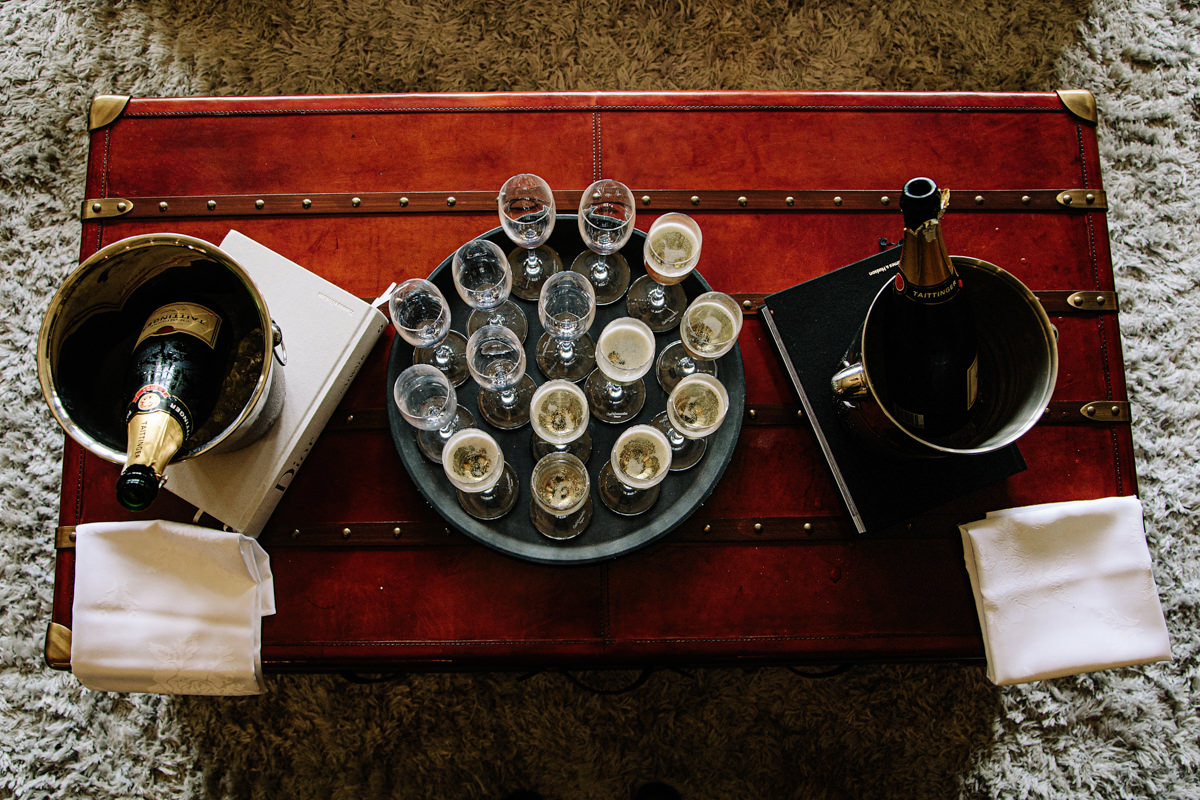 Drinks reception at Colshaw Hall