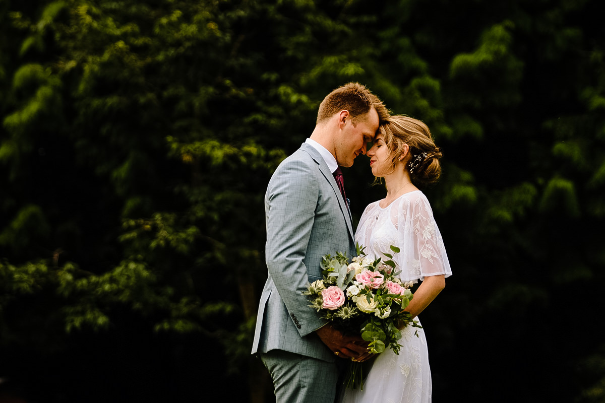 Bride and Groom wedding photography Cheshire