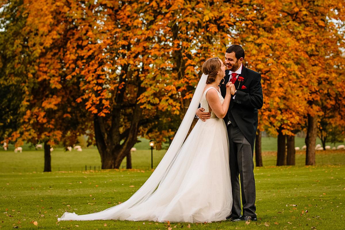 Gorgeous Autumn colours at Colshaw Hall