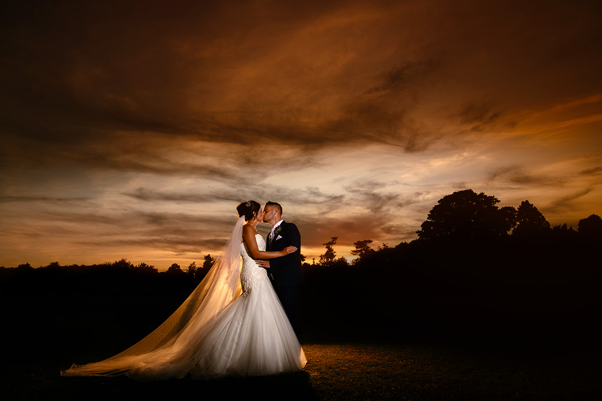 Creative wedding photography Cheshire