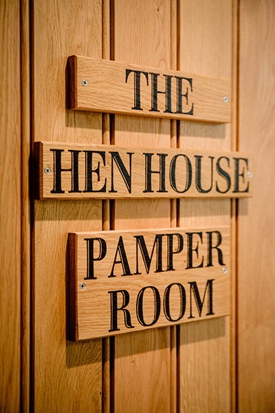 The Hen House Pamper Room