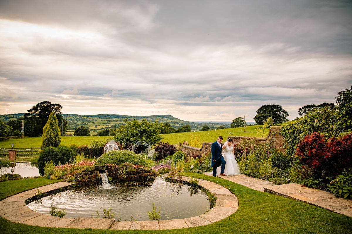 The secret garden at Heaton House Farm