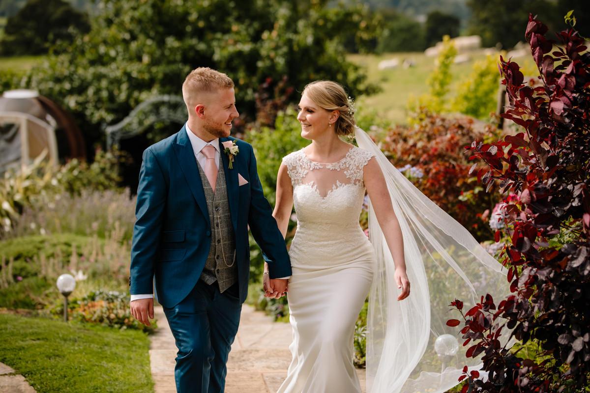 Natural wedding photography at Heaton House Farm