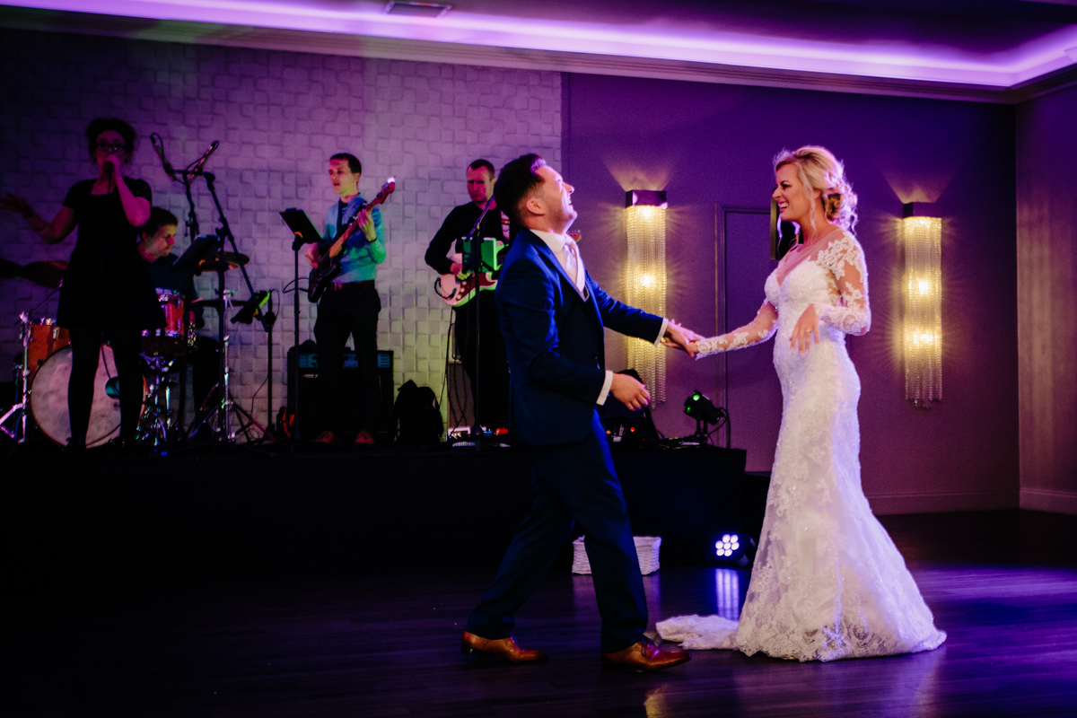 First Dance in the Merrydale Suite