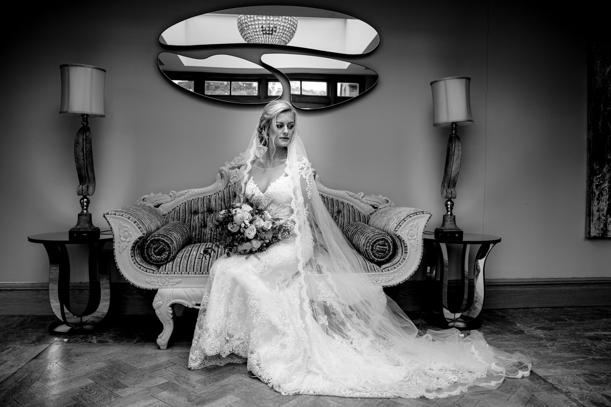 Stunning bride at Merrydale Manor