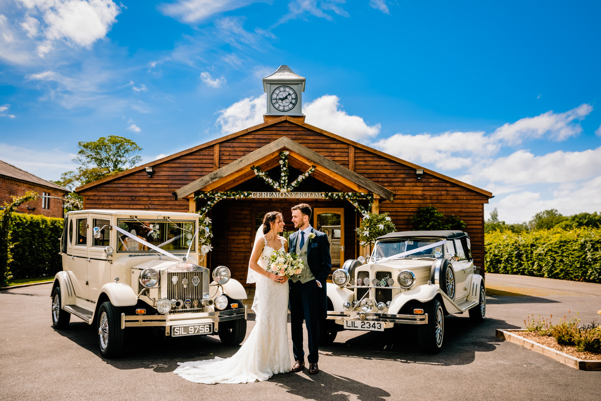 Merrydale Suite and wedding cars