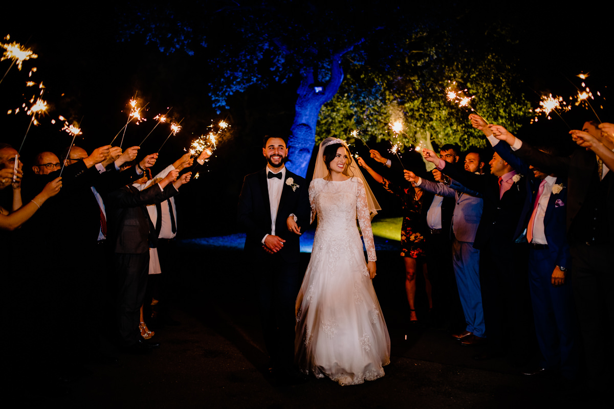 Sparklers at Merrydale Manor