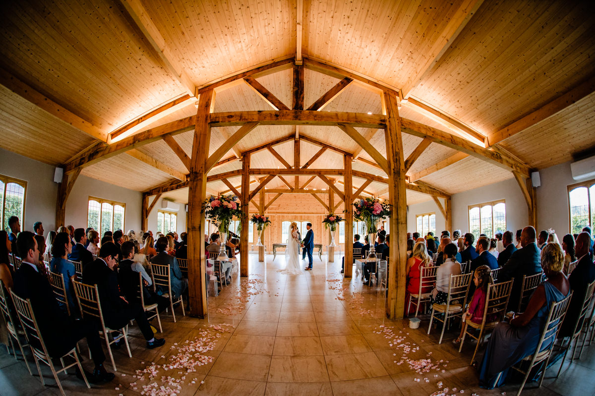 The Ceremony room at Merrydale Manor