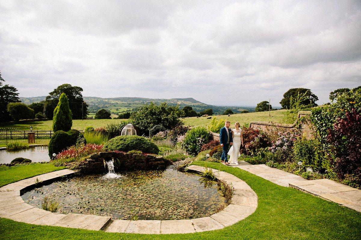 Secret garden at Heaton House Farm