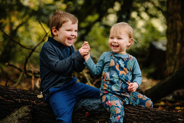Fun relaxed family photography Cheshire