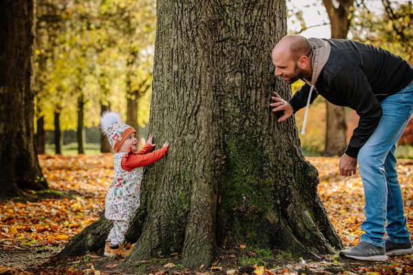 Fun natural moments with Cheshire family photography