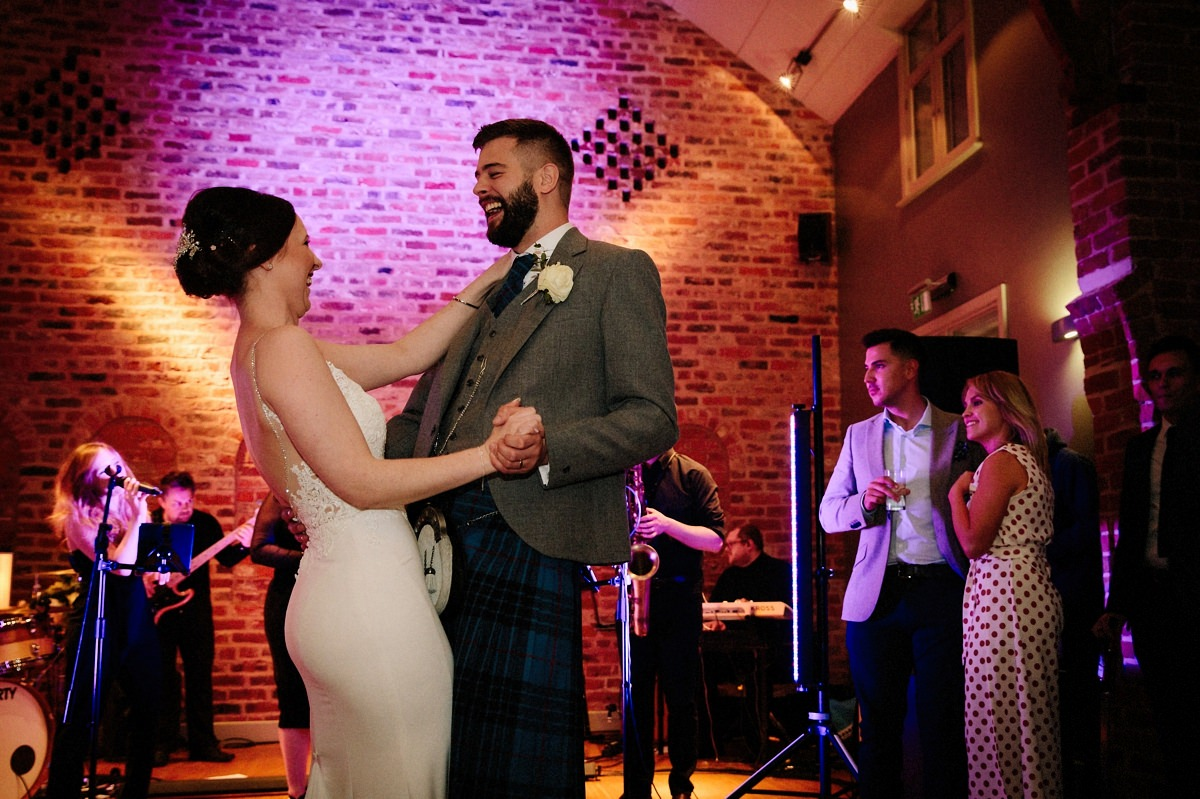 The first dance at the Olympia at Arley Hall