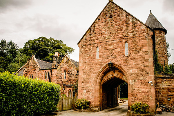 Peckforton Castle gatehouse lodge entrance