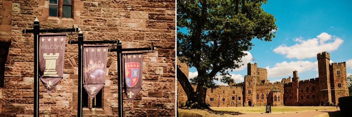 An overview of Peckforton Castle
